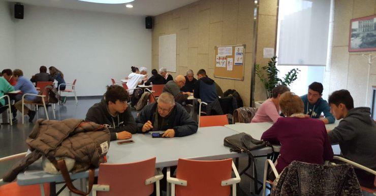Bones sensacions en l'estrena del projecte Mobilitza't entre la Immaculada i el Casal de la Gent Gran