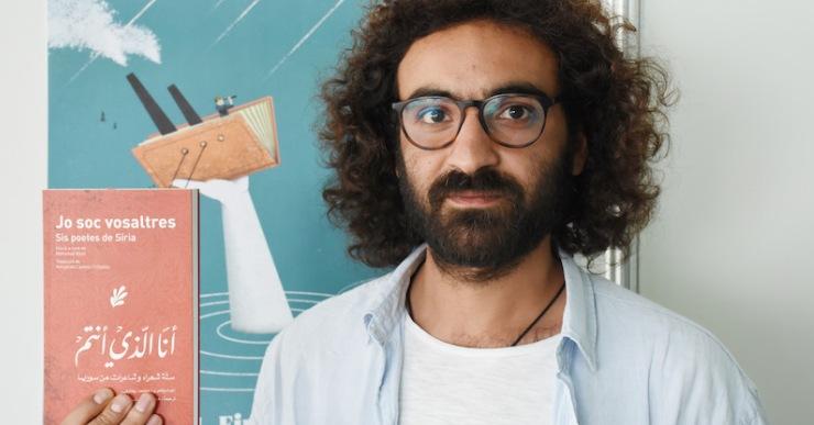 Mohamad Bitari, doblement refugiat, presenta a Lloret 'Jo soc vosaltres. Sis poetes de Síria'