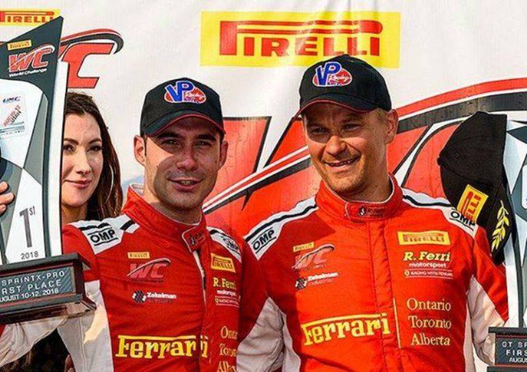 Miguel Molina (Ferrari) es proclama campió a la Pirelli World Challenge, als EUA