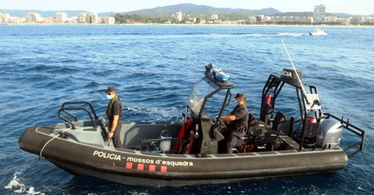 La Costa Brava compta amb una patrulla marítima de Mossos d'Esquadra