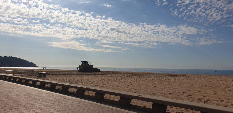 Lloret de Mar inicia avui les obres d'adequació de les platges de Lloret i Fenals