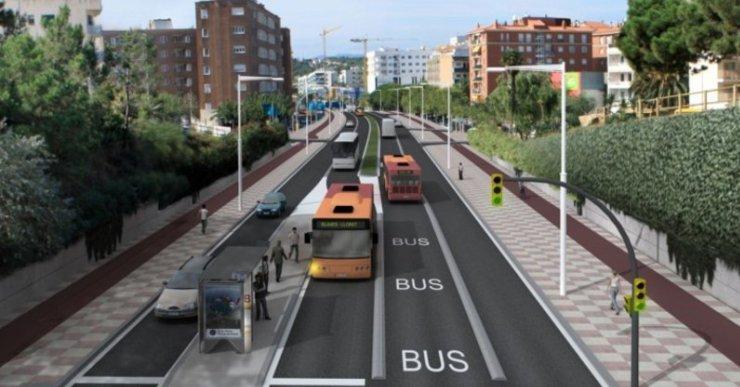 El Parlament insta el Govern català a estudiar la construcció d'un carril bus entre Lloret i Blanes