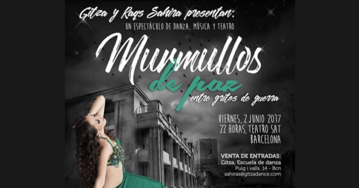 Cristina Catalan participa a 'Murmullos de paz', un espectacle de dansa solidari