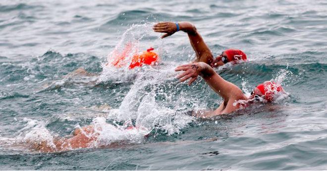 Una vintena de nedadors faran una travessia de Blanes a Lloret, diumenge