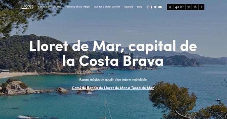 Lloret de Mar estrena nou portal de turisme, amb continguts personalitzats a cada visitant