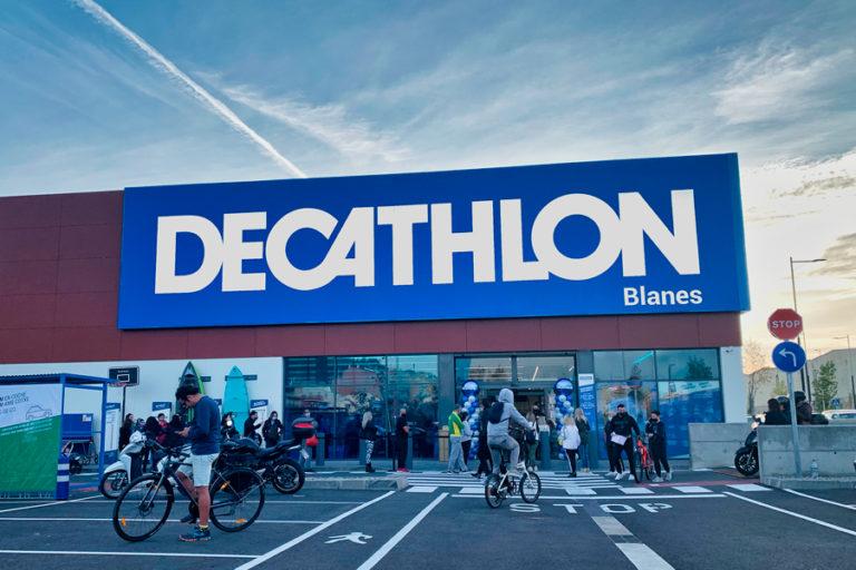 Avui obre portes una botiga Decathlon a la població veïna de Blanes