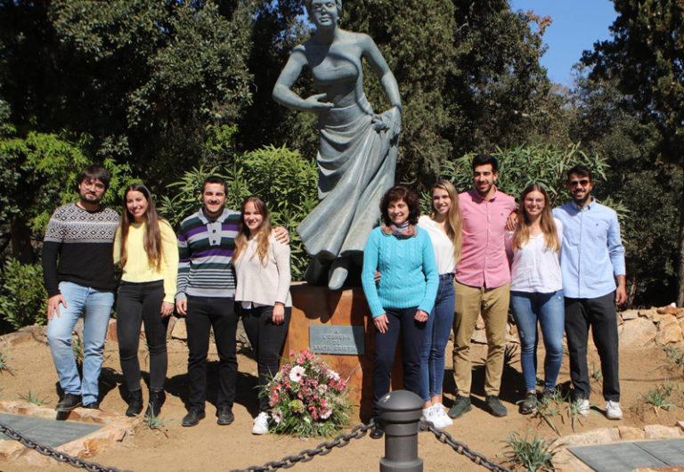 Ariadna Béjar, Andrea Molina, Gemma De Mingo i Mireia David ja són Obreres de Santa Cristina