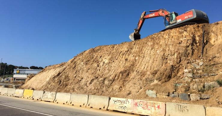 Ja han començat les obres del futur Esclat de Lloret de Mar, a la zona de Sant Quirze