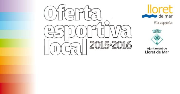 Ja s'ha publicat l'oferta esportiva de Lloret per al curs 2015-2016