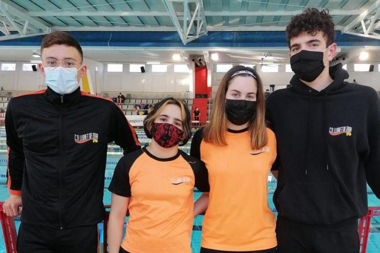 El CN Lloret participa en l'Open Internacional de Terrassa amb sis nedadors