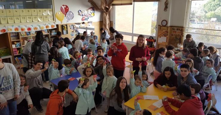 L'escola Immaculada Concepció aporta 2.500 euros a la Marató de TV3