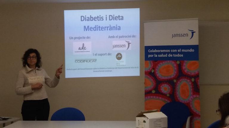 Xerrada al Club Marina Casinet sobre diabetis i dieta mediterrània