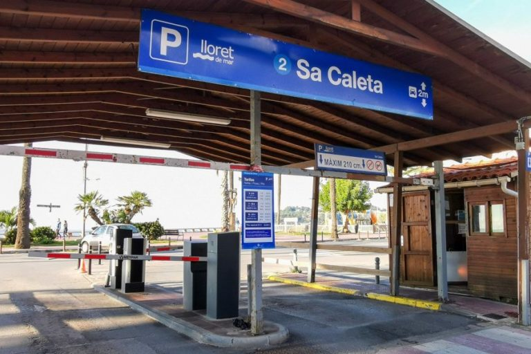 L'aparcament de Sa Caleta passa a ser de pagament