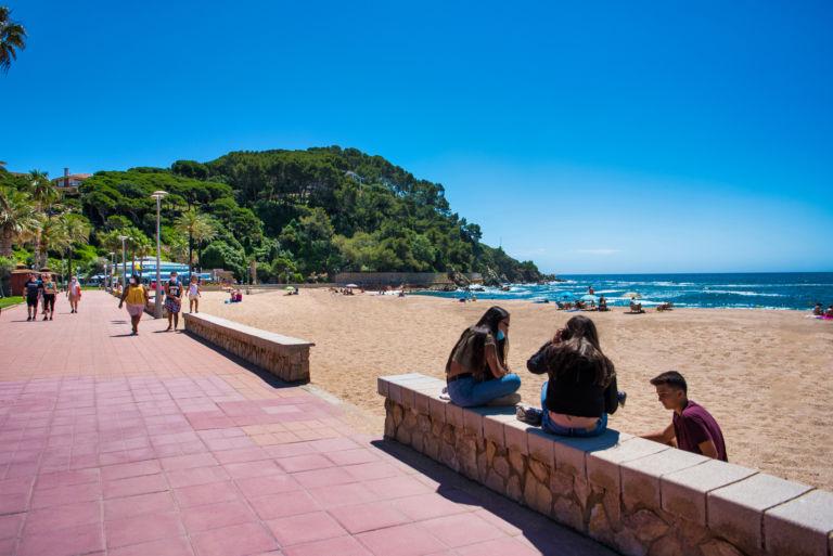 """Lloret de Mar experimenta un """"cert repunt"""" en les reserves dels hotels durant aquest mes d'agost"""