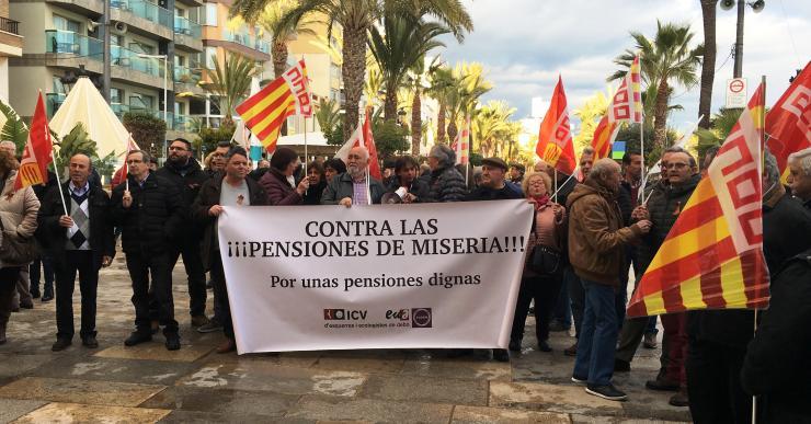 Nova manifestació dels pensionistes, aquest dissabte, per reclamar unes pensions dignes