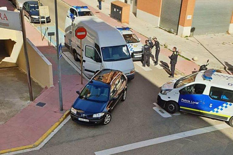 Detinguts els lladres d'una furgoneta després d'una persecució policial