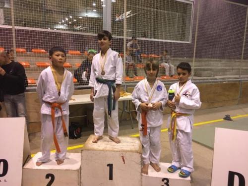 Aarón Palomino, bronze a la Copa Catalana de Judo benjamí -35kg