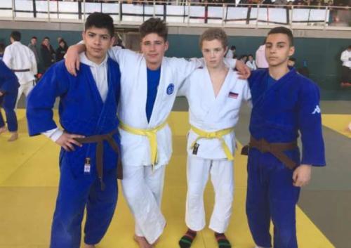 equip cadet judo nova unio febrer 2019