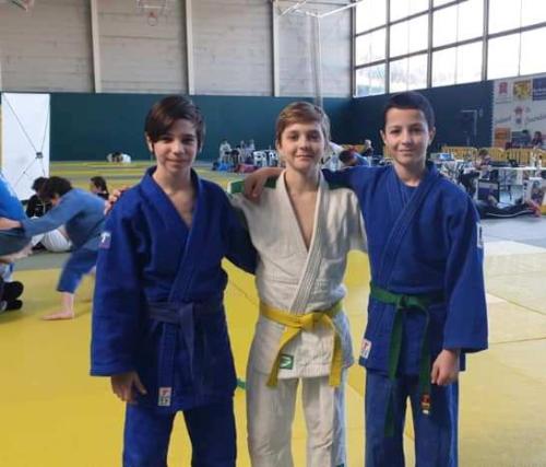 equip infantil judo nova unio febrer 2019