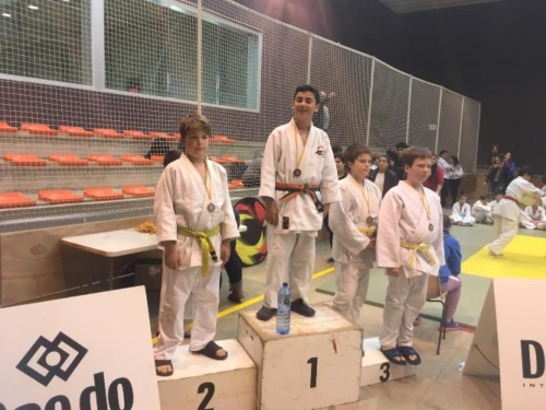 Georgjis Topolevs, plata a la Copa Catalana de Judo aleví -50kg