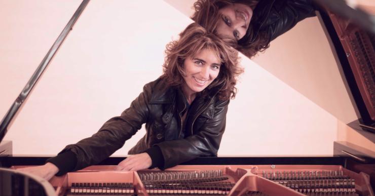 Pilar López-Carrasco, al segon concert del cicle 'Nits de piano' dels Amics de la Música