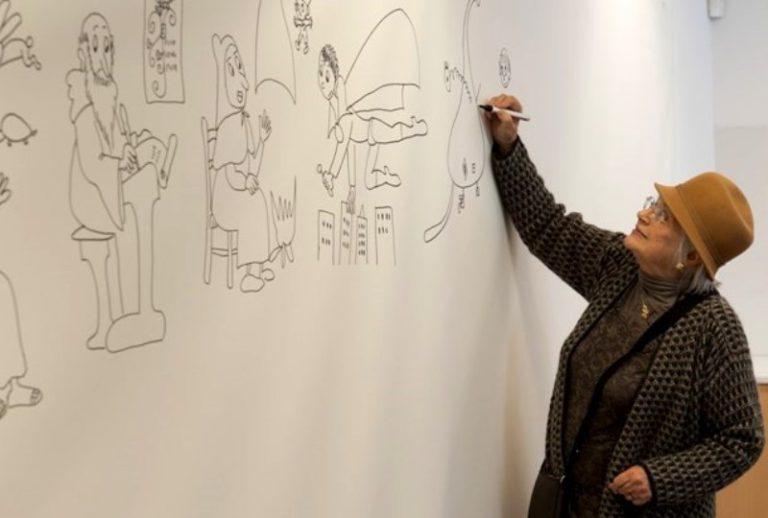 Pilarín Bayés, ponent de luxe en la trobada d'sketchers d'aquest cap de setmana a Lloret