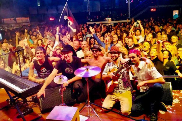 Piratas Rumbversions per celebrar el Dia Mundial del Turisme a Lloret