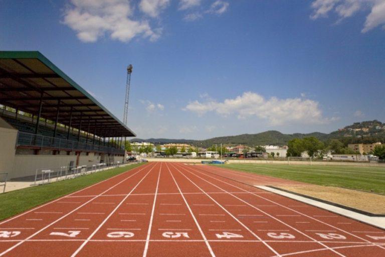 Lloret, seu de la fase comarcal d'atletisme amb 250 infants