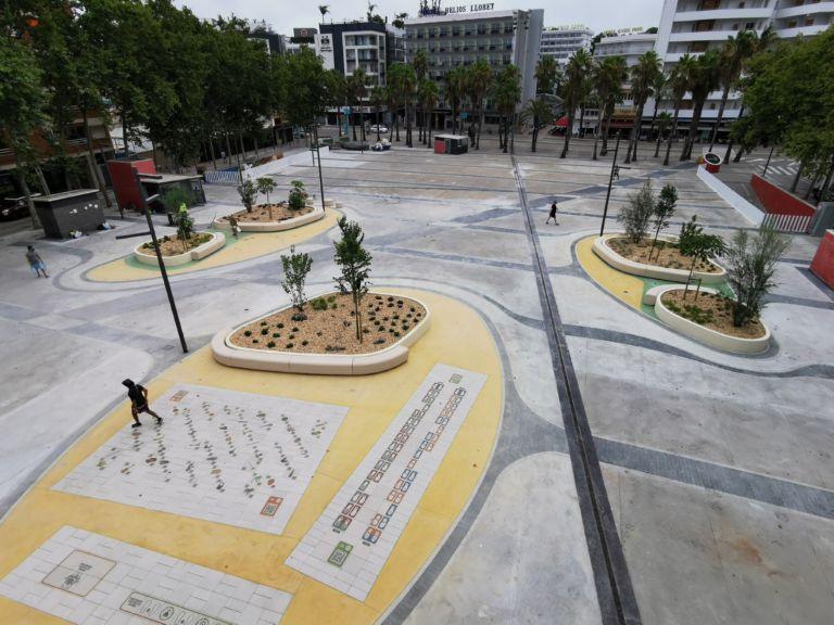 Lloret compta amb la primera plaça de tot Catalunya amb realitat augmentada