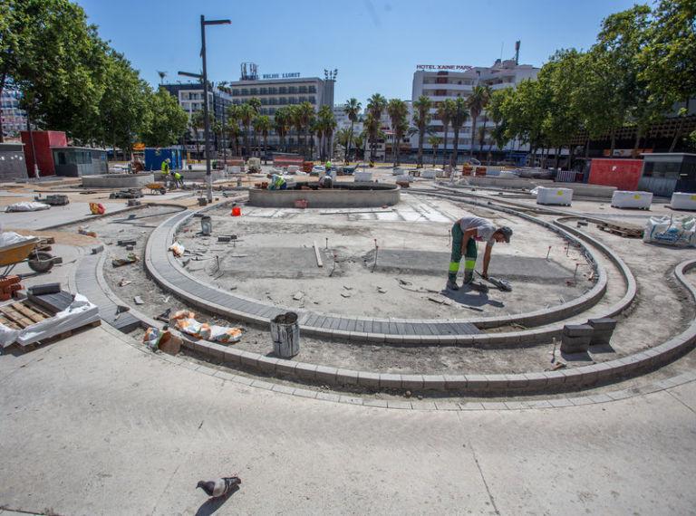 Lloret en Comú demana explicacions sobre les filtracions d'aigua al pàrquing de la plaça Pere Torrent