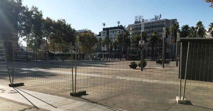 Les obres de remodelació total de la plaça Pere Torrent estan a punt de començar