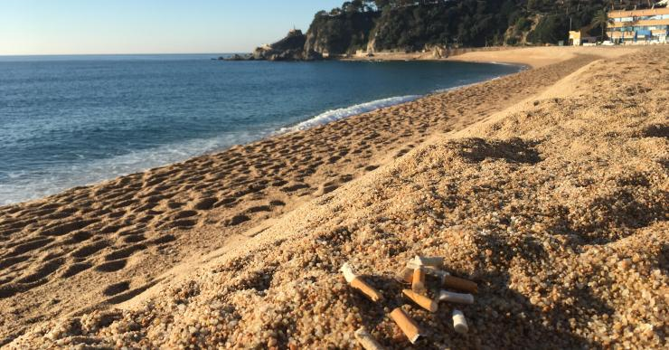ICV – EUiA proposa que les platges de Lloret de Mar siguin declarades espai sense fum