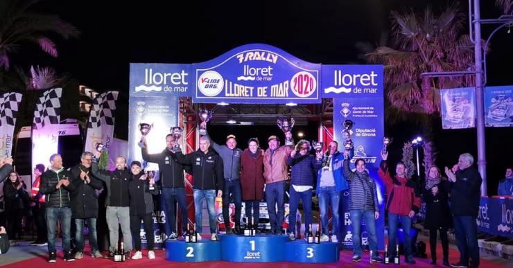 Els francesos Genesca i Villani, guanyadors del Rally Lloret de Mar 2020 en la categoria de Velocitat