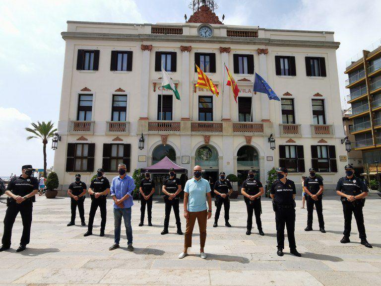 La Policia Local de Lloret de Mar ha incorporat 8 nous efectius policials