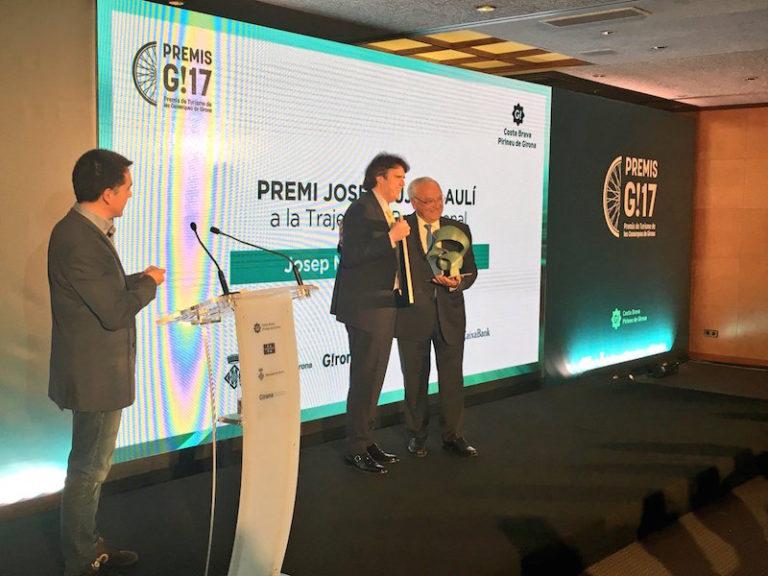 Josep Maria Molist, de Evenia Hotels, premi G! a la trajectòria professional