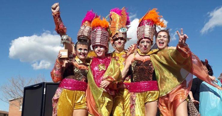 Forçame guanya el Carnaval de Palafolls en la categoria de 'Carrosses de fora'