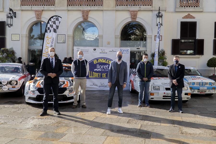 Presentació del Rally de Lloret 2021