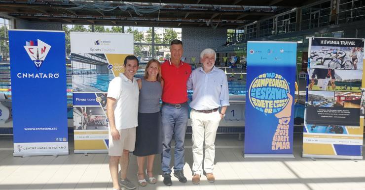 Avui comença el campionat d'Espanya de waterpolo (cadet masculí) a la piscina de Lloret de Mar