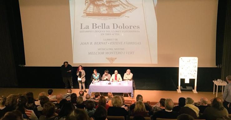 Un centenar de persones, entre intèrprets, cantaires del cor i equip artístic, portaran a escena 'La Bella Dolores