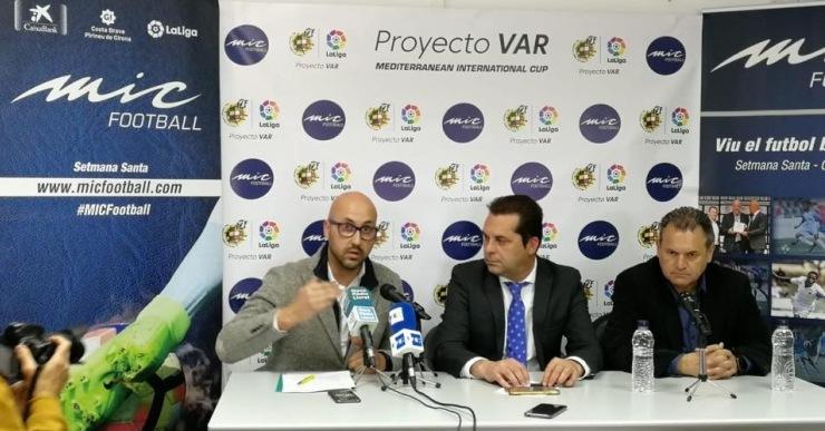 Lloret de Mar serà l'únic lloc on es faran proves del VAR en la disputa del torneig de futbol MIC