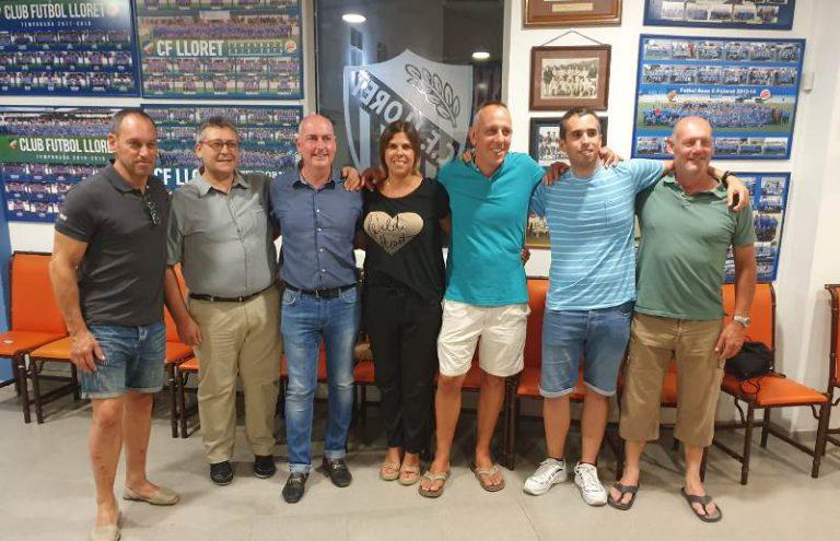 Eduard Coloma guanya les eleccions i presidirà el Club de Futbol Lloret fins al 2025