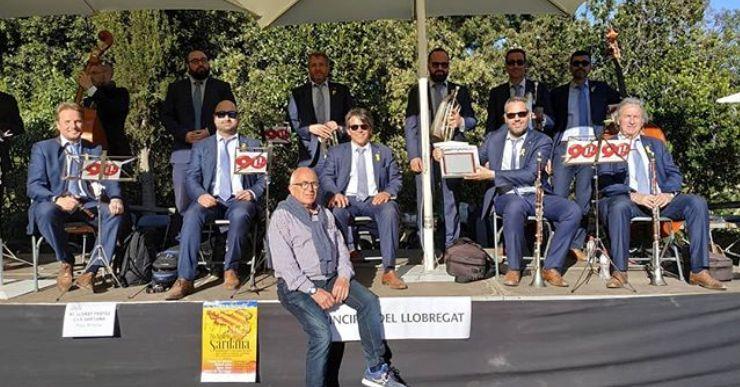 La cobla La Principal del Llobregat torna a Lloret en el cicle 'Sardanes a la fresca'