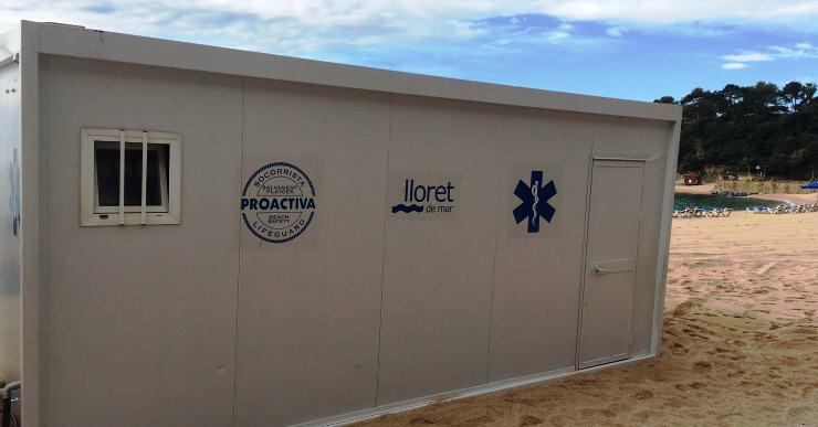 Els socorristes de Proactiva ja han començat la vigilància a les platges de Lloret i Fenals