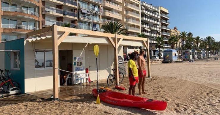 El servei de socorrisme a Lloret, un dels més llargs de la costa catalana, acaba aquest dimarts