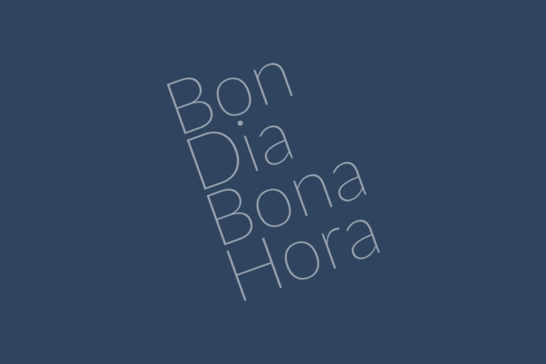 Bon Dia Bona Hora – 18 Gener 2021