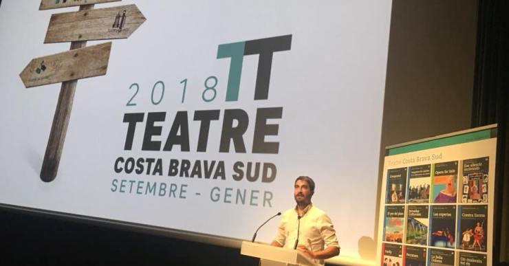 El Teatre de Lloret programa una cartellera arriscada i demana confiança al públic