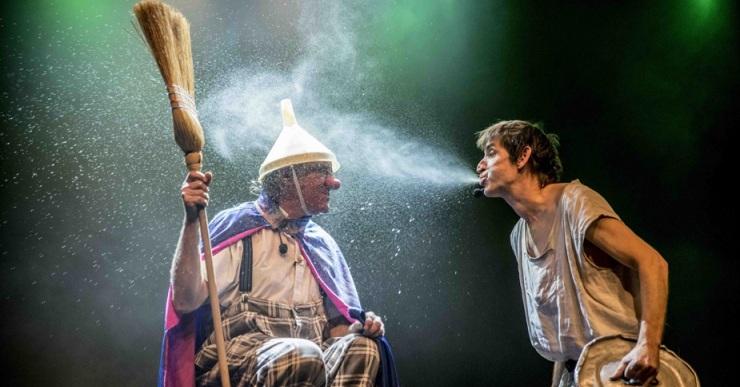 Tortell Poltrona i Albert Pla uneixen talent i entremaliadures, aquest diumenge, al teatre