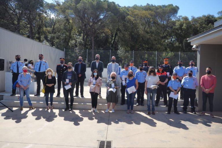 Reconeixement al voluntariat de Protecció Civil i els informadors cívics per la bona feina feta durant el confinament