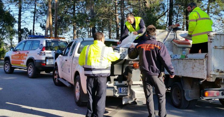 Protecció Civil tira sal a les vies per sobre de la cota 200 per evitar glaçades