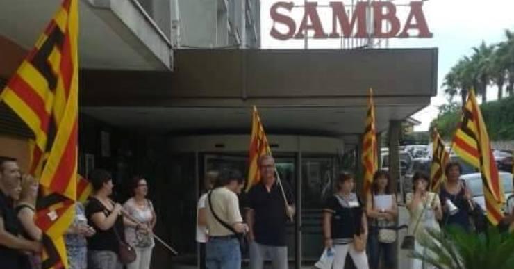 CCOO seguirà les protestes a l'hotel Samba si la direcció tira endavant l'acomiadament
